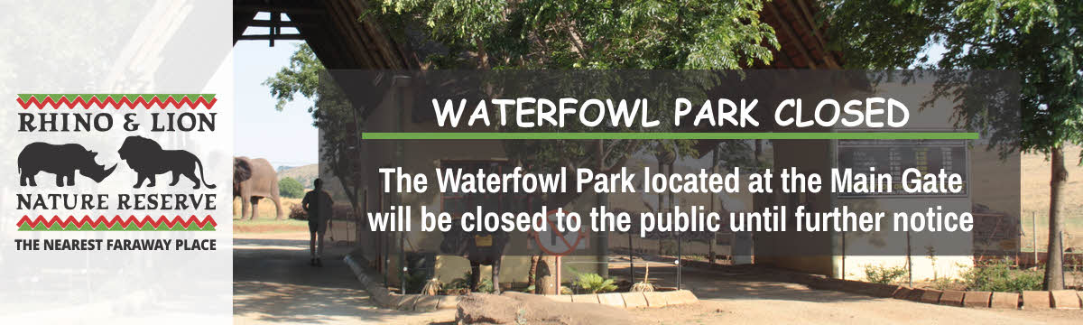 Waterfowl Park CLOSED Until Further Notice