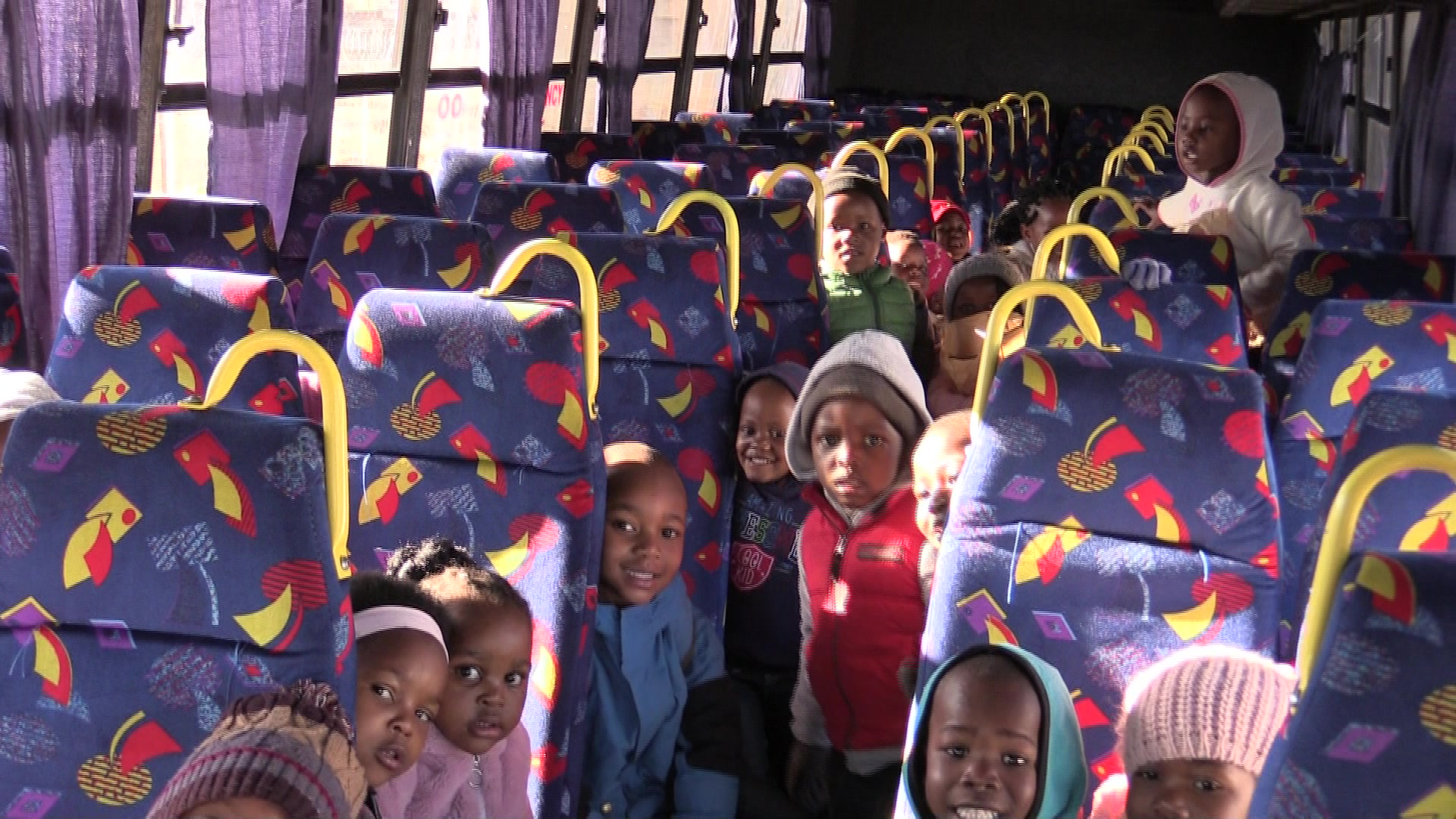 We hosted 267 children from Impumelelo Day Care on Mandela Day have a look