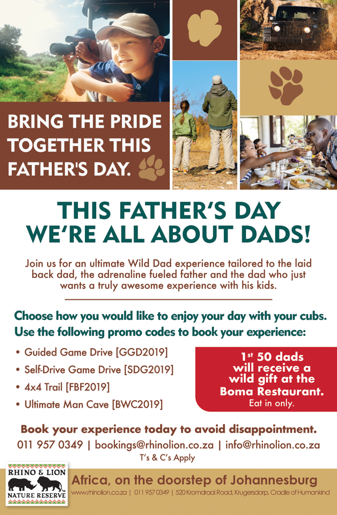 16th June 2019 This Father's Day we're all about Dads!