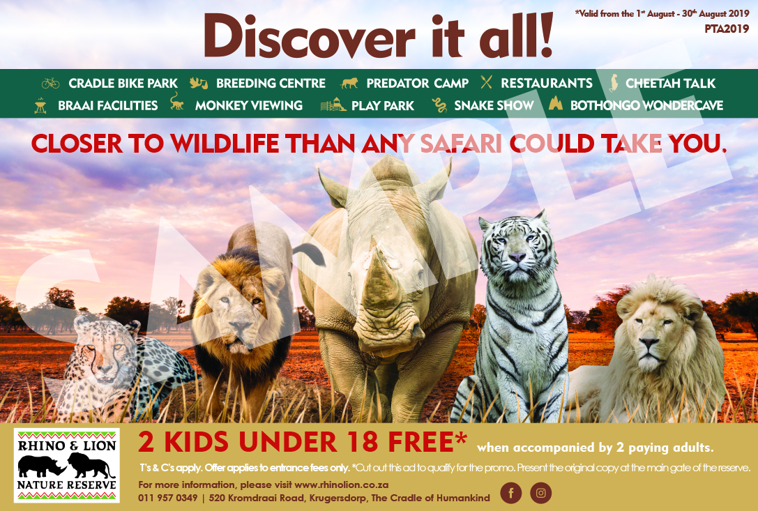 Discover it all with 2 Kids under 18 FREE