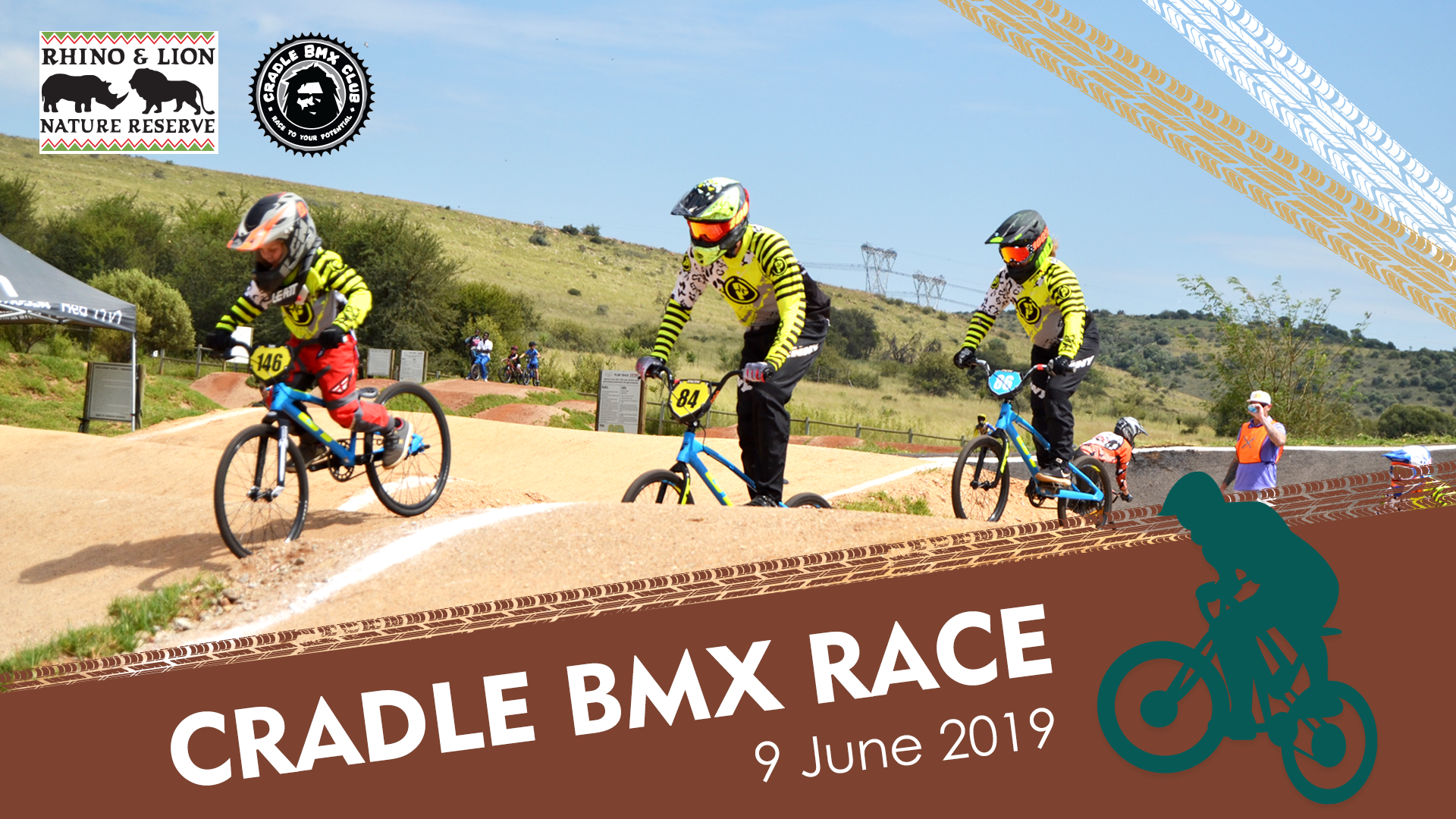 Come join in the fun at the Cradle Bike Park's BMX 2nd Club Race this Sunday, 9 June 2019
