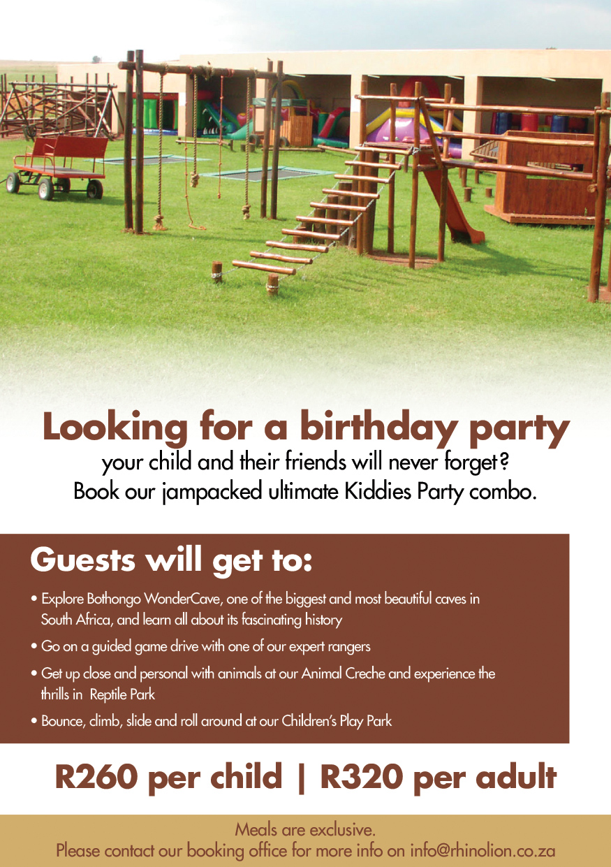 Looking for a Birthday Party