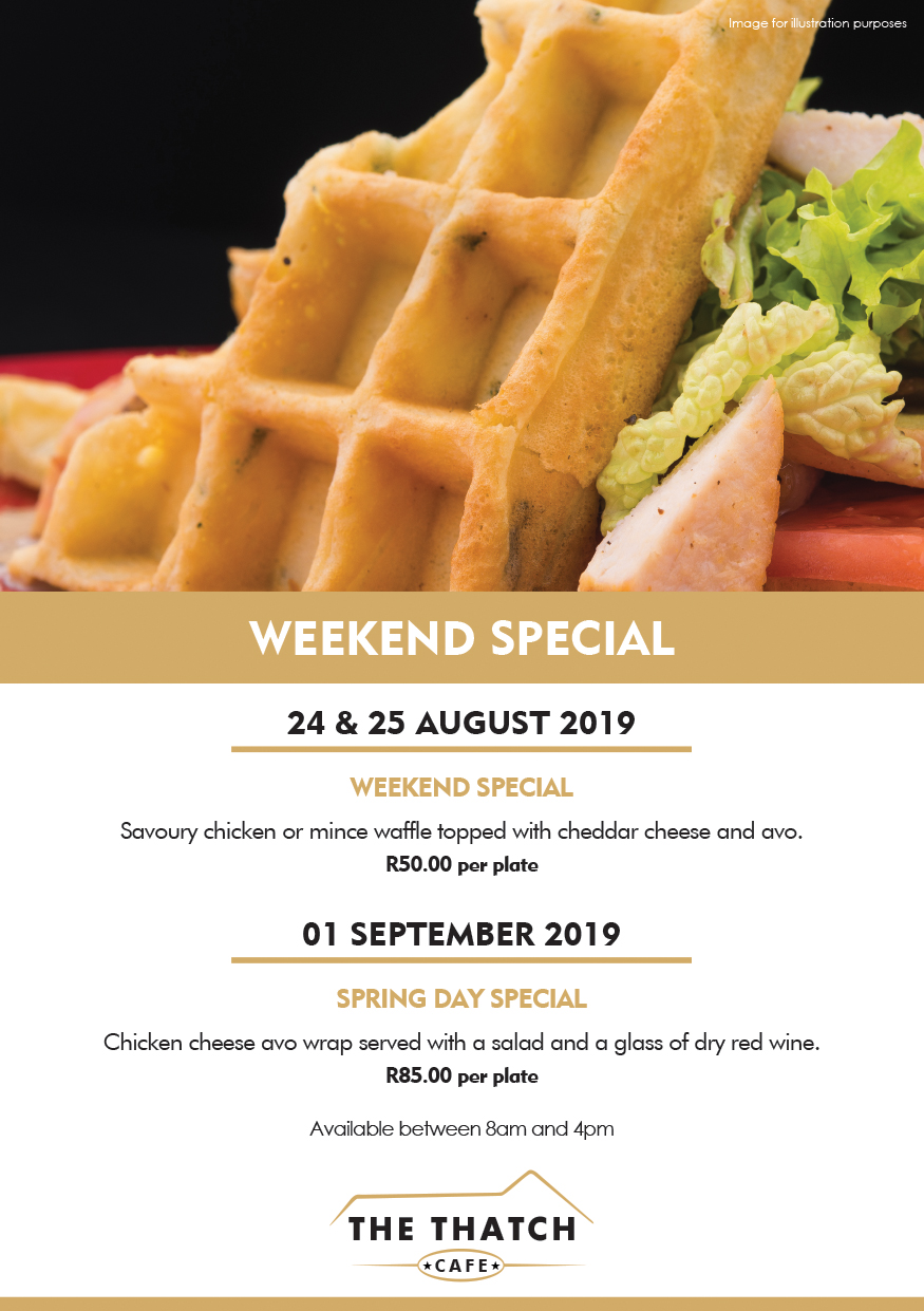 Weekend Special Thatch Cafe