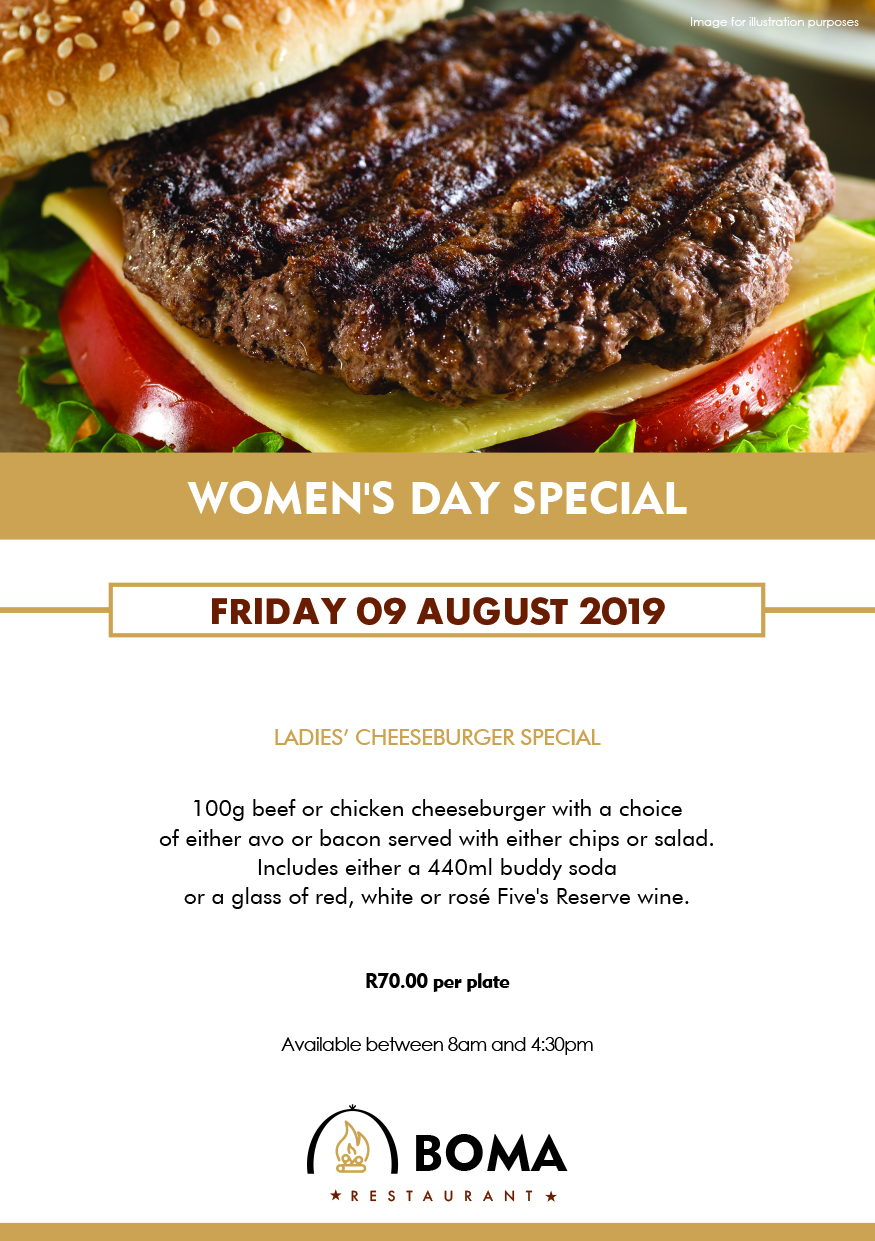 Women's Day Special at the Boma Restaurant
