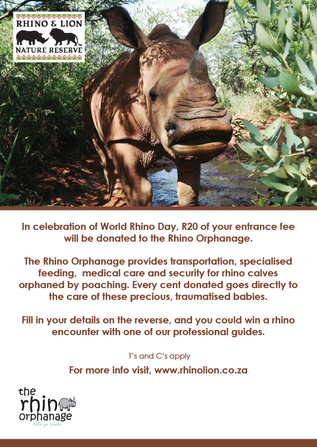 In celebration of World Rhino Day 22nd September 2019‎